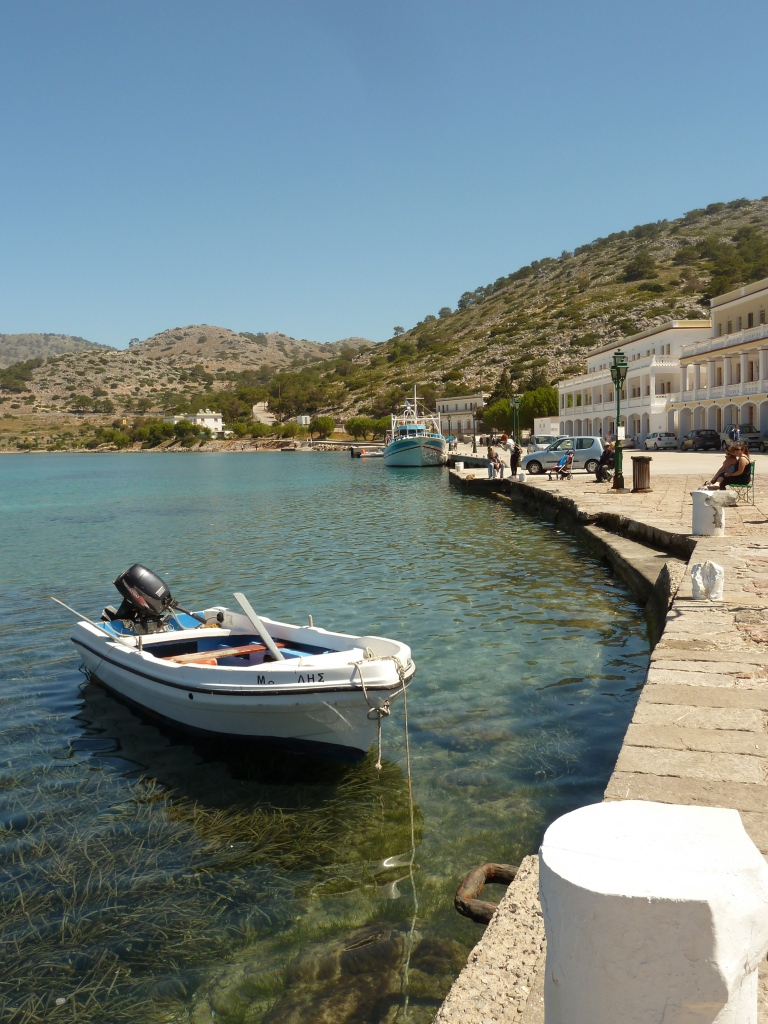 Harbour at Panormitis Monastery, Symi