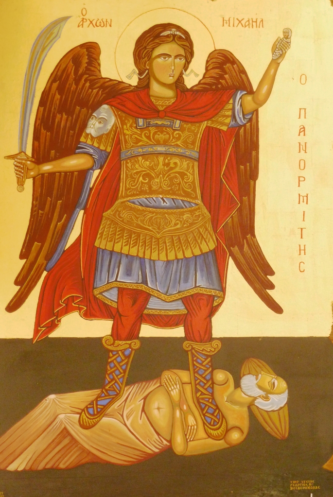 Panormitis, also known as the Archangel Michael